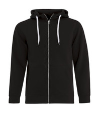 ATC ES Active FZ Hooded Sweatshirt - Black