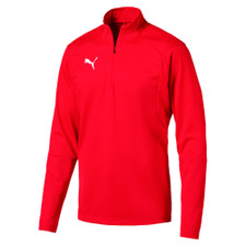 Puma Liga Training 1/4 Zip Pull Over Top