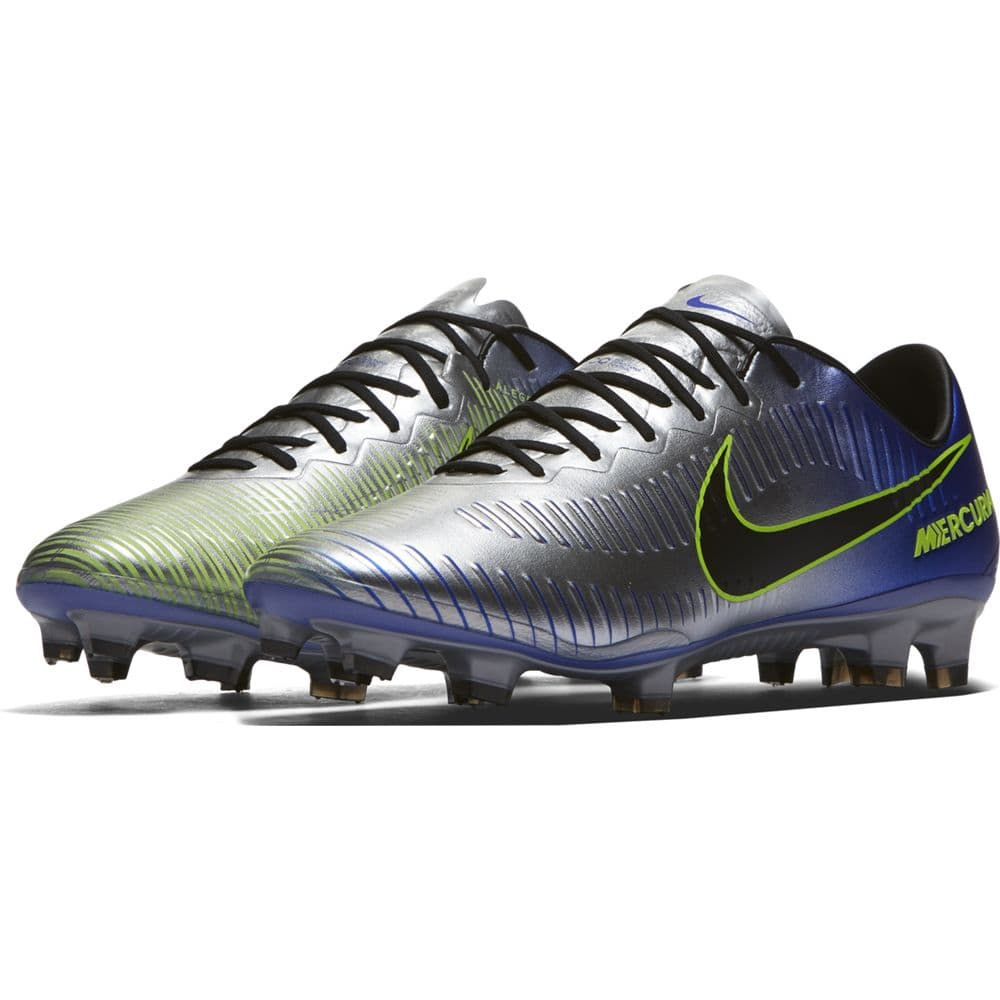 NIKE NEYMAR MERCURIAL VAPOR XI FIRM GROUND BOOT - RACER BLUE