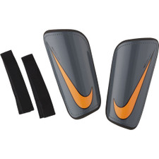 Nike Mercurial Hardshell Shin Guards - Dark Grey/Black/Orange