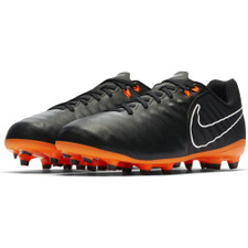 Nike Tiempo Legend 7 Academy Firm Ground Boot Jr - BLACK/TOTAL ORANGE-BLACK-WHITE