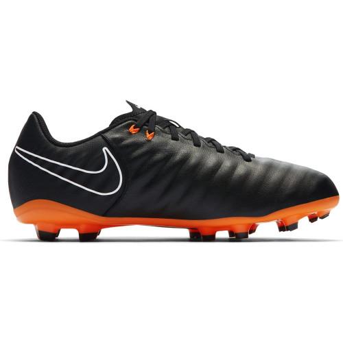 Nike Tiempo Legend 7 Academy Firm Ground Boot Jr - BLACK/TOTAL ORANGE-BLACK-WHITE