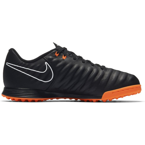 Nike Tiempo LegendX 7 Academy Artificial Turf Boot Jr - BLACK/TOTAL ORANGE-BLACK-WHITE