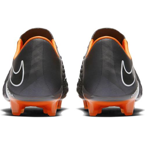9c565231f123 ... Nike Hypervenom Phantom 3 Elite Firm Ground Boot - DARK GREY TOTAL  ORANGE-WHITE ...