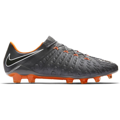 Nike Hypervenom Phantom 3 Elite Firm Ground Boot - DARK GREY/TOTAL ORANGE-WHITE