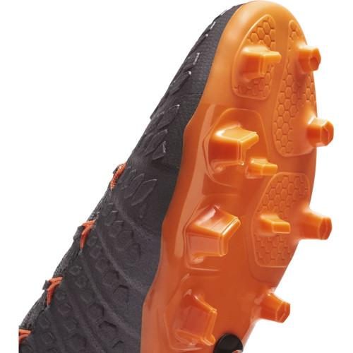 Nike Hypervenom Phantom 3 Elite Dynamic Fit Firm Ground Boot JR - DARK GREY/TOTAL ORANGE-W