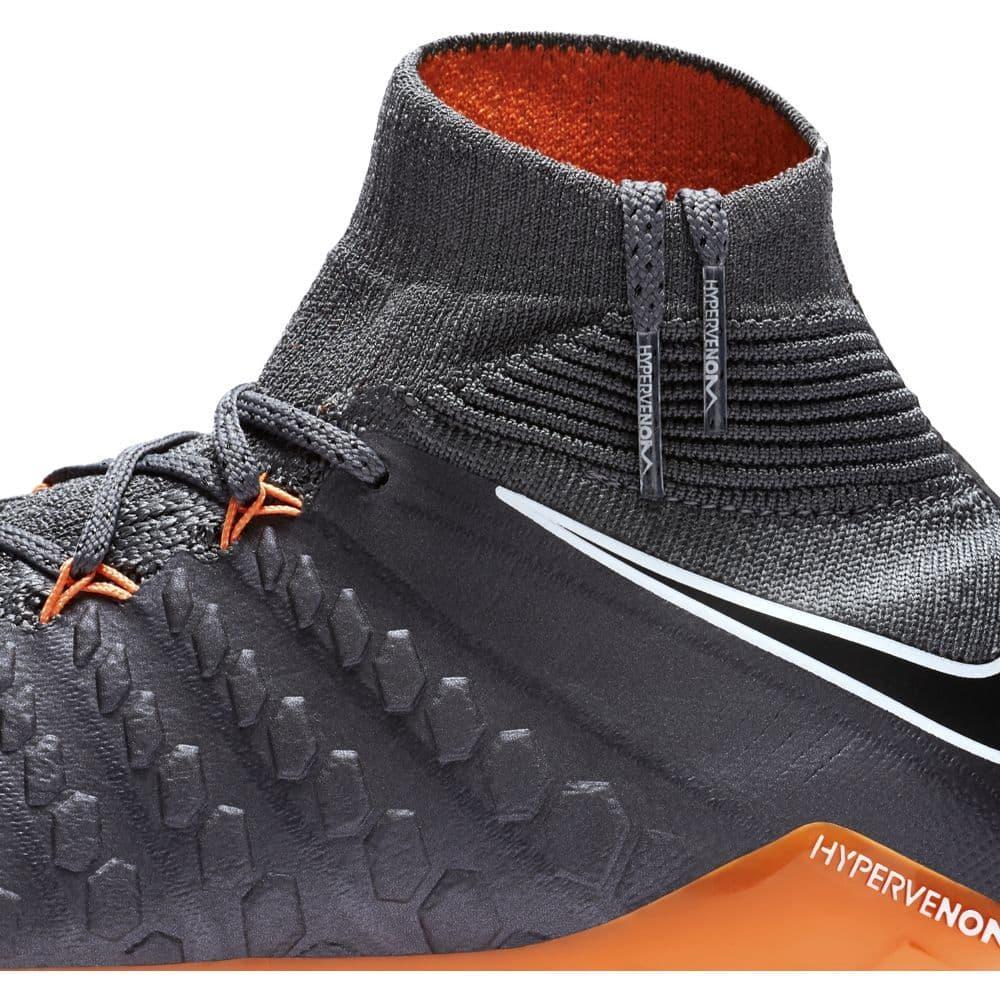 brand new 5adef 8d15b ... order nike hypervenom phantom 3 elite dynamic fit firm ground boot jr  dark grey total fd617