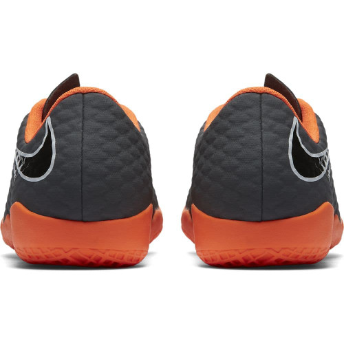 326a2bdfaeec ... Nike Hypervenom PhantomX 3 Academy Indoor Boot Jr - DARK GREY/TOTAL  ORANGE-WHITE ...