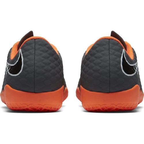 30321848251 ... Nike Hypervenom PhantomX 3 Academy Indoor Boot Jr - DARK GREY TOTAL  ORANGE-WHITE ...