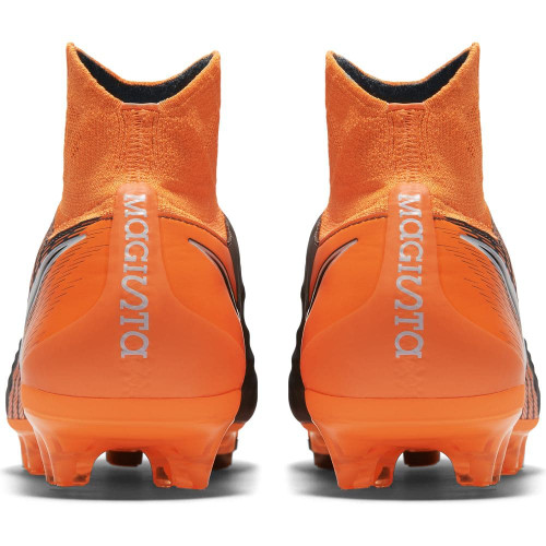17068715c591 ... Nike Magista Obra 2 Pro Dynamic Fit Firm Ground Boot - DARK GREY TOTAL  ORANGE ...