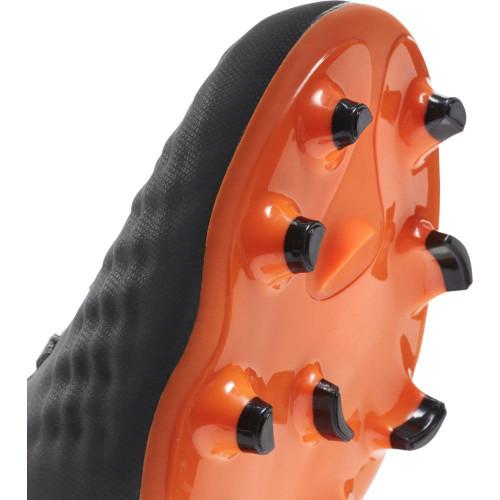 Nike Obra 2 Academy Dynamic Fit Firm Ground Boot Jr - DARK GREY/BLACK-TOTAL ORANGE-WHITE