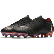Nike Vapor 12 Elite Firm Ground Boot - Black