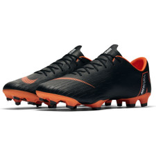 Nike Vapor 12 Pro Firm Ground Boot - Black