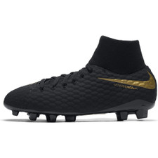 new product 1a954 845c2 Nike Hypervenom Phantom 3 Academy Dynamic Fit Firm Ground Boot Jr - Black