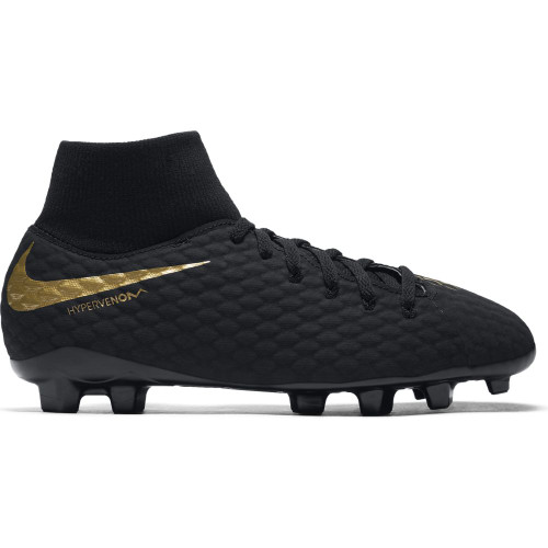 Nike Hypervenom Phantom 3 Academy Dynamic Fit Firm Ground Boot Jr - Black