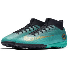 Nike CR7 SuperflyX 6 Academy Artificial Turf Boot Jr - Clear Jade