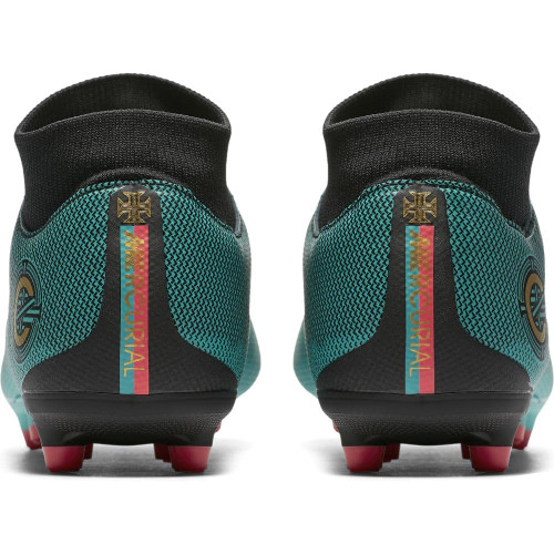 5ad975a0a ... Nike Superfly 6 Academy CR7 Firm Ground Boot - Clear Jade ...