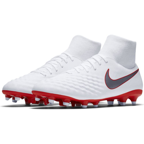 Nike Magista Obra 2 Academy Dynamic Fit Firm Ground Boot - White ... 3fccb3179