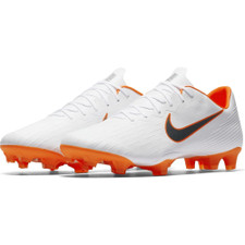 Nike Vapor 12 Pro Firm Ground Boot - White