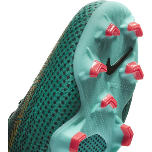 Nike Superfly 6 Elite CR7 Firm Ground Boot Jr - Clear Jade