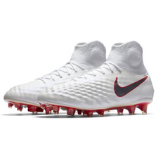 Nike Magista Obra 2 Elite Dynamic Fit Firm Ground Boot - White