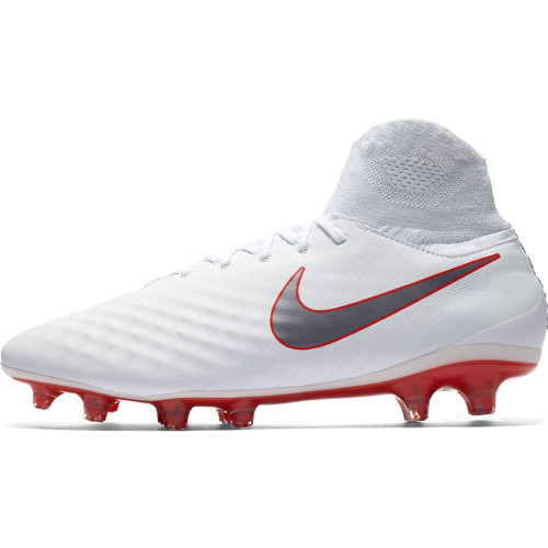 cd06266b2 Nike Magista Obra 2 Pro Dynamic Fit Firm Ground Boot - White | SOCCERX