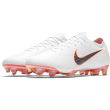 Nike Vapor 12 Elite Firm Ground Boot - White