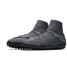 Men's Nike Hypervenom PhantomX 3 Academy Dynamic Fit Artificial Turf Boot - DARK GREY/TOTAL ORANGE