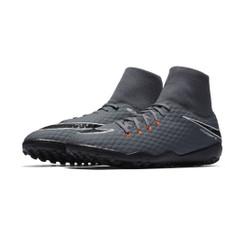 Men's Nike Hypervenom PhantomX 3 Academy Dynamic Fit Artificial Turf Boot - DARK GREY/TOTAL ORANGE