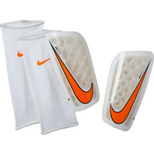 Nike Mercurial Flylite Shin Guard - White