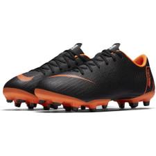 Nike Vapor 12 Academy GSFirm Ground Boot Jr - Black