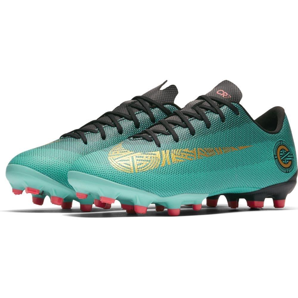a67c5ddb4a723 Nike Vapor 12 Academy GS CR7 Artificial Turf Jr - Clear Jade