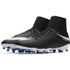 7791ad034 Nike Hypervenom Phelon III Dynamic Fit Firm Ground Boot - Black White