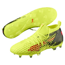 Puma Future 18.2 Netfit Firm Ground Boot - Yellow