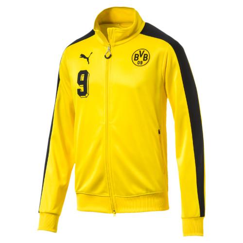 da39373db5e9 Puma Borussia Dortmund T7 Jacket - Yellow