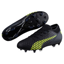 Puma Future 18.4 Firm Ground Boot Jr - Black