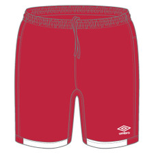Umbro Premier Short - Red/White
