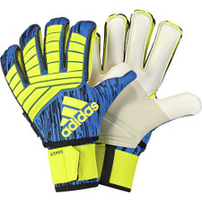 adidas Predator Ultimate GK Gloves - Solar Yellow/Black/Football Blue