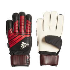 adidas Predator Fingersave Junior GK Glove - Black/Red/White