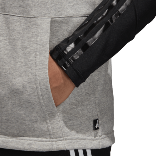 adidas Tango Layered Long Sleeve Jersey - Medium Grey Heathered