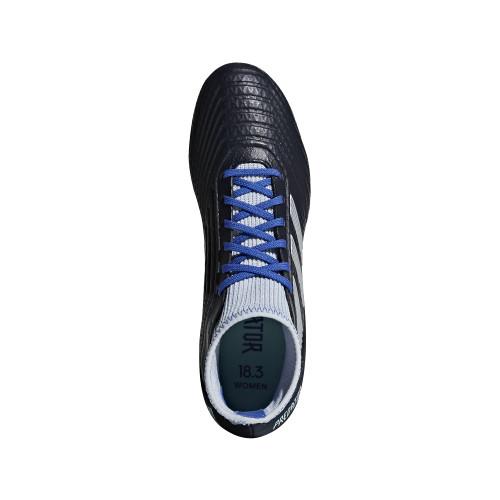 46fbae54d ... adidas Predator 18.3 Firm Ground Boot Womens - Legend Ink/Silver/Aero  Blue ...