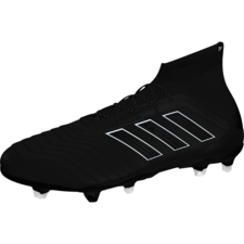 adidas Predator 18.1 Firm Ground Boot - Core Black/Core Black/White