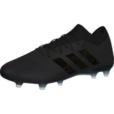 adidas Nemeziz 18.1 Firm Ground Boot - Black - Core Black/Core Black/White