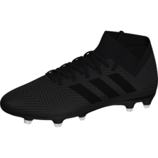 adidas Nemeziz 18.3 Firm Ground Boot - Core Black/Core Black/White