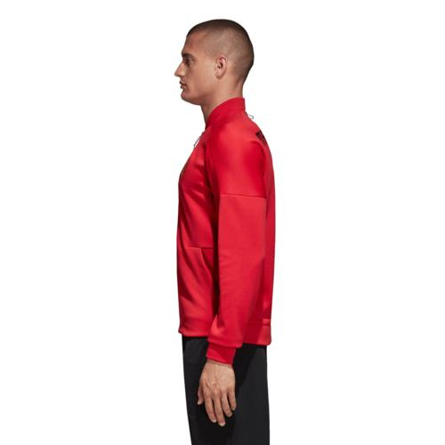 28c438fe53 adidas Manchester United adidas Z.N.E. Jacket - Red