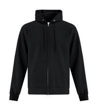 ATC Everyday Fleece FZ Hoodie - Black