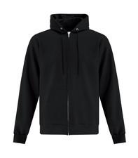 ATC Everyday Fleece FZ Hoodie - Black