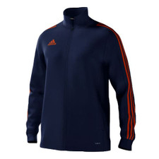 adidas mi Team 18 Training Jkt - Dark Blue/Orange