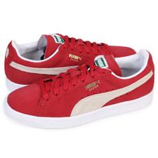 half off 3a516 8d5bc Puma Suede Classic+ - Red/White