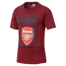 Puma Arsenal FC Fan Cotton Tee - Forest Night